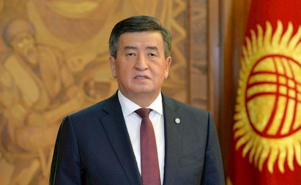 President Sooronbay Jeenbekov
