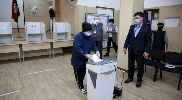 Parliamentary elections underway in Kyrgyzstan amid strict anti-COVID measures
