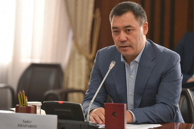 Acting President Sadyr Zhaparov (Kabar)