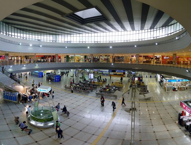 Inside Suwon Station