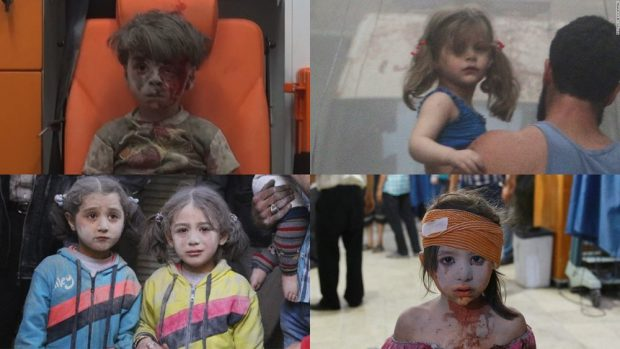 Children, the first innocent victims of wars