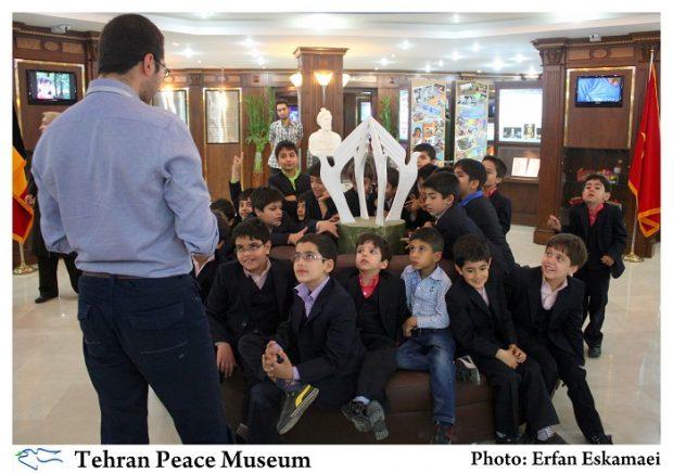 Children visiting the museum