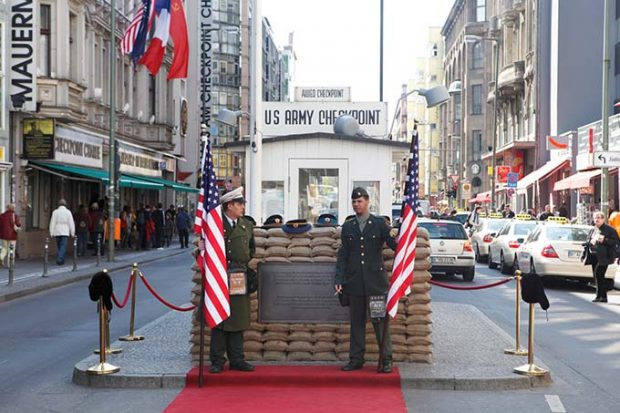 Checkpoint Charlie was built in 1961