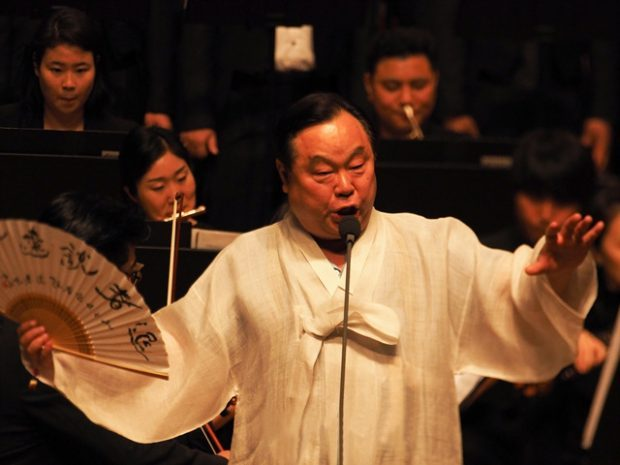 Performance at Pyeongyang by Professor Woong-kyun Lim