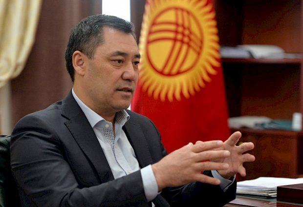 President Sadyr Zhaparov (Kabar News Agency)