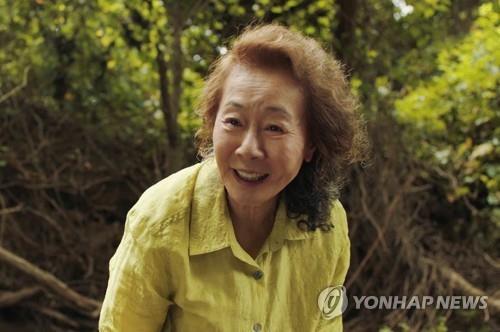 "This photo provided by Pancinema shows Youn Yuh-jung in ""Minari"" (Yonhap)"