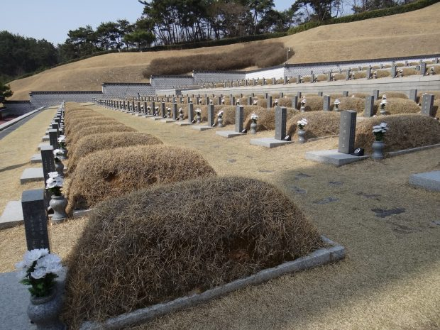 Graves of the brave in Gwangju