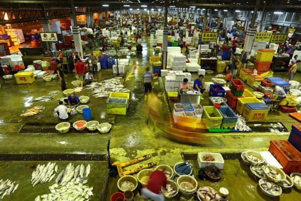 Jurong Fishery Market (Strait Times)