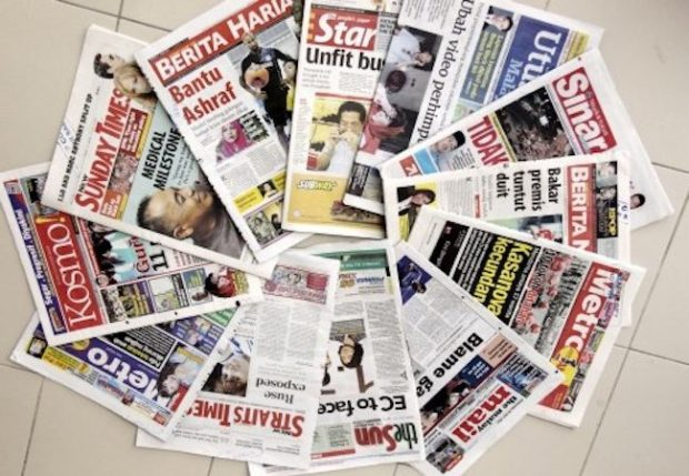 Malaysian print media (advertising.com.my)