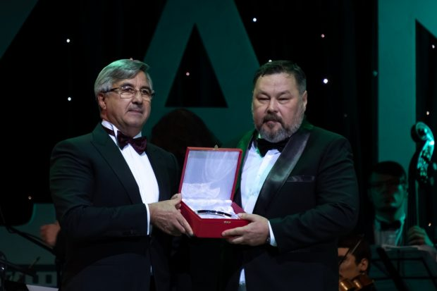 Chairman of the organizing committee of the festival Vasil Shaikhraziev and Ildar Yagafarov